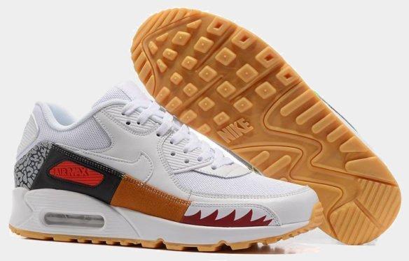 Фото Nike Air Max 90 белые - 2
