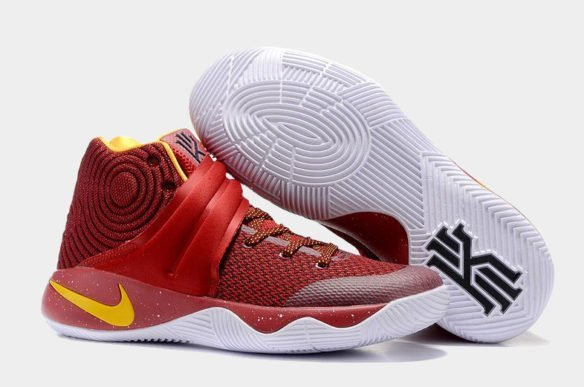 Фото Nike Kyrie 2 красные - 1