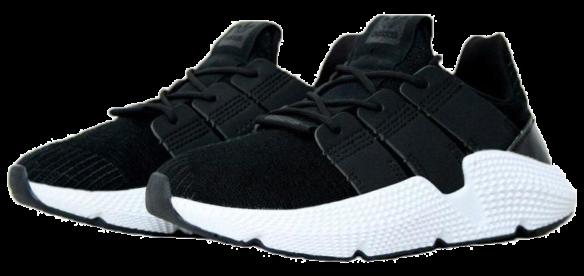 Фото Adidas Prophere Черные с Белым - 1