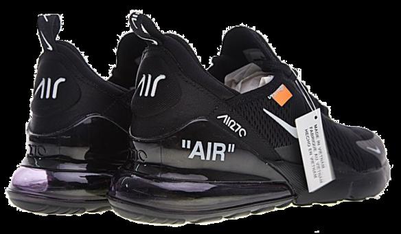Фото Off White x Nike Air Max 270 Черные - 3
