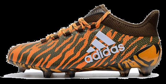 Фото Adidas X 17.1 FG orange - 3